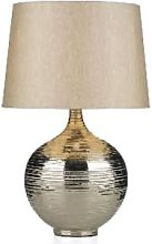 Där Lighting - Large Silver Gustav Table Lamp -
