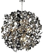 Där Lighting - Polished Chrome Puccini 8 Pendant