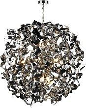 Där Lighting - Polished Chrome Puccini 8 Pendant