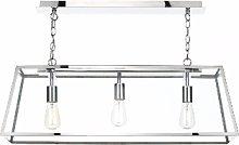 Där Lighting - Steel Academy 3 Pendant Light -