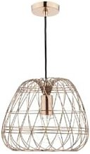 Där Lighting - Woven Copper Pendant Light - Copper