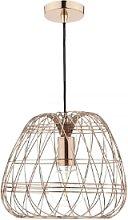 Där Lighting - Woven Copper Pendant Light - Copper