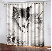 Daesar Bedroom Curtains 2 Panel Sets, Blackout