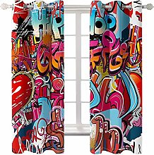 Daesar Blackout Curtains 2 Panel Sets, Drapes