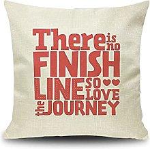Daesar Christmas Cushion Cover, Cushion Cover 18 x