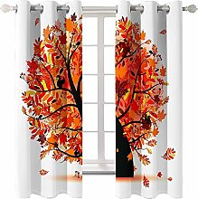 Daesar Curtains for Livingroom 2 Panel, Bedroom