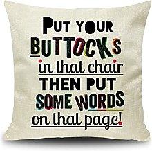 Daesar Decorative Pillow Cases, Throw Pillow