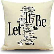 Daesar Decorative Pillowcases, Cushion Cover 16 x