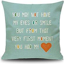 Daesar Pillow Cases Decorative, Outdoor Pillowcase