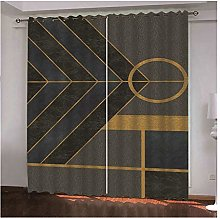 Daesar Polyester Curtain 42 x 72 Inch Living Room