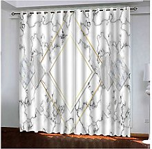 Daesar Polyester Curtains Bedroom 42 x 84 Inch
