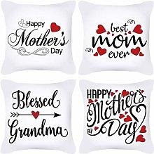 Daesar Set Of 4 Throw Pillow Covers, Throw Pillow