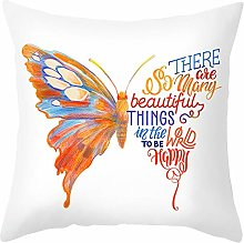 Daesar Square Cushion Covers, Throw Pillow Covers