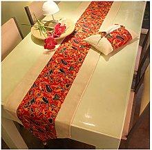 Daesar Table Runner 30x180CM, Cotton Linen Table