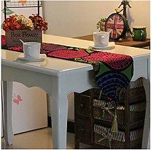Daesar Table Runner 30x180CM, Linen Cotton Table