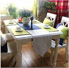 Daesar Table Runner 32x200CM, Cotton Linen Table