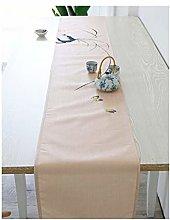 Daesar Table Runner 32x230CM, Linen Cotton Table