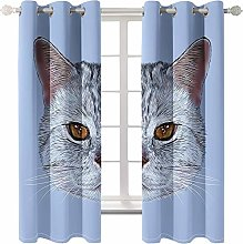 Daesar Window Curtains 2 Panel Sets, Curtains for
