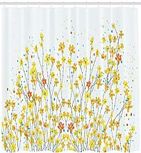 Daffodil blooming spring High-definition printed