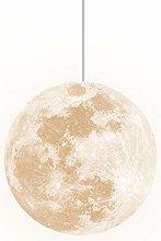 Dagea 3D Printing Moon Pendant Lights Universe