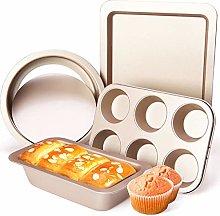 DAGUAI Baking Non Stick Oven Tray Sets,Carbon