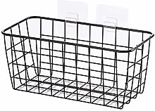 DAGUAI Bathroom Shelf,Wall Mount Wrought Iron