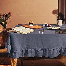 DAGUAI Tablecloth table runner Cotton and Linen
