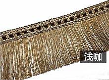 DAHDXD 2 Meters Curtain Tassel Fringe Trimming
