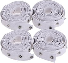 Dailymall 4 Yards Invisible Snap Buttons Tape