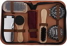 dailymall Shoe Shine Care Kit Shoe Polish Brush