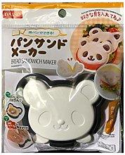 Daiso Japan Cute Bread Sandwich Maker Animal Bear