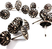 DAISY HIGH DOME UPHOLSTERY PIN - 10.5mm WIDE -