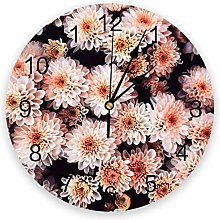 Daisy Silent Non Ticking Wall Clock, Battery