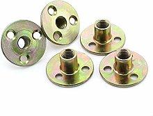 DaJiKan 5PCS Iron Nut/Furniture Nut/Lock Nut/Three