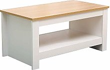 DAKEUR Furniture Coffee Table Small Side Storage