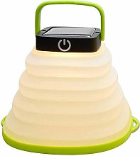 DALADA Camping Lantern, Solar Powered LED Light