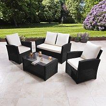 Dalia 4 Seater Rattan Sofa Set Zipcode Design