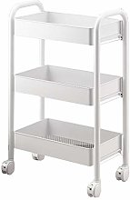 DALL 3 Tier Kitchen Storage Trolleys Removable