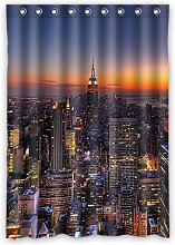 Dalliy Custom City of New York Window Curtain