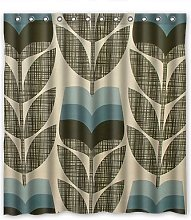 Dalliy Custom Orla Leaves Kiely Shower Curtain
