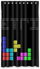 Dalliy Custom Tetris Window Curtain Polyester