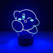 Dalovy Festival 3D Illusion Lamp Led Night Light 7