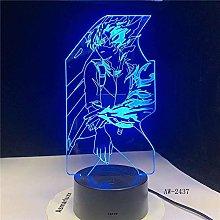 Dalovy Festival 3D Led Night Light Table Lamp