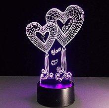 Dalovy Festival Love 3D Night Light Led Optical