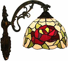 DALUXE E27 Tiffany Style Wall Lamp European Retro