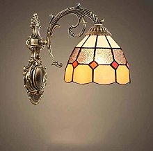 DALUXE Retro Tiffany Style Wall Lamp Fixtures