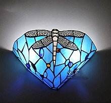 DALUXE Tiffany Style Wall Lamp Sconces Stained