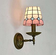 DALUXE Tiffany Style Wall Lamp Stained Glass 6