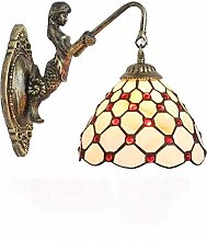 DALUXE Vintage Tiffany Style Wall Sconce Lamp