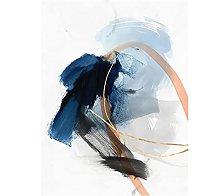 DAMAIJ Canvas Poster Ink Wash Abstract Decor